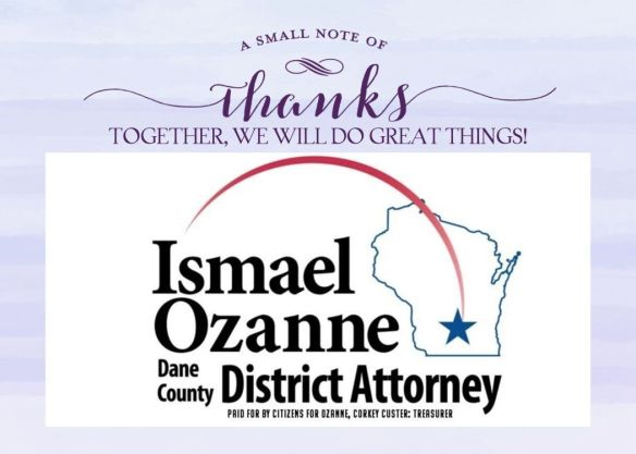 Ozanne thank you card